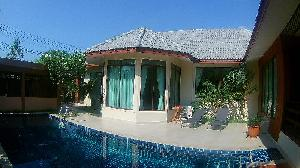 3 bedroom pool villa at Nibanna shade at