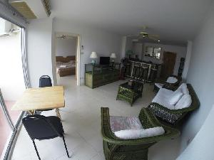 Apartment rental :  Vaccation rental, 64 SQM between Pattaya and Jomtien in the famous View Talay 1 at